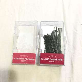 Bobby Pins And Clear Hairbands