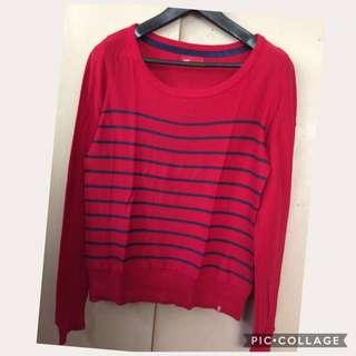 Esprit red pullover