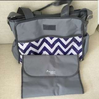BN Thomson Medical Diaper Bag with changing mat