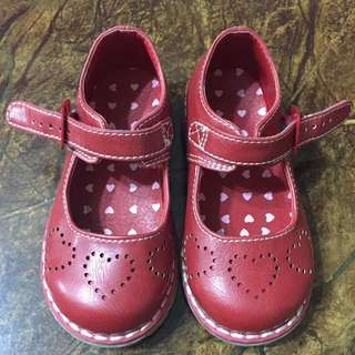 Mothercare red shoes