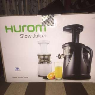 (New) Hurom Slow Juicer