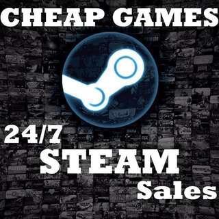 Cheap PC Games (Steam, Uplay, Origin, Battle.net)