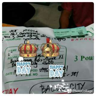 Proof of shipping - Baguio