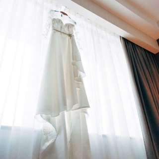 Lace Satin Wedding Dress