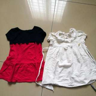 Dresses in bundle age 18mo-24mo