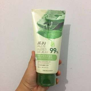 The Face Shop Jeju Aloe 99% 300ml Masih Segel