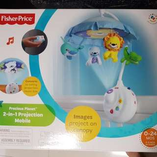 🚚 Fisher Price 2 In 1 Projection Mobile