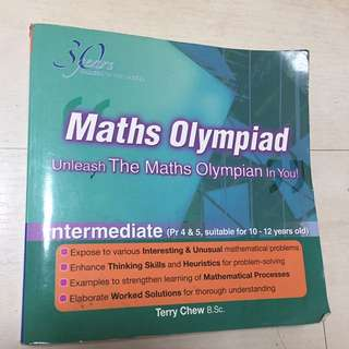 Maths Olympiad - intermediate