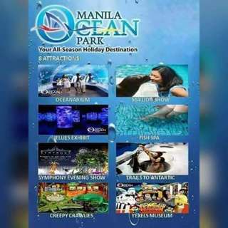 Manila Ocean Park! discounted tickets!!