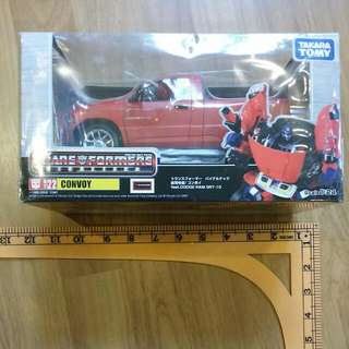 Takara TOMY - Transformers BINALTEC Ram Srt-10 Optimus Prime Diecast BIB - Not Hasbro
