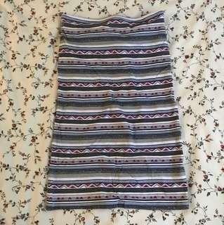 Billabong Pattern Tube Dress