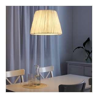HEMSTALamp shade, white,45 cm