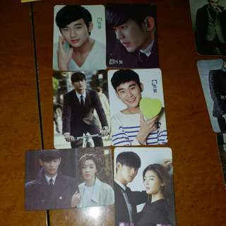 Kim soo hyun yes cards