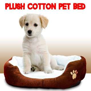 TPE005 Plush Cotton Pet Bed for Small animals