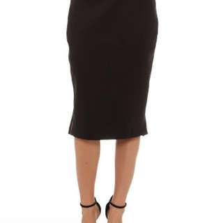 Cameo Collective - Killing Vibe Trumpet Pencil Skirt in Black (Size XS)