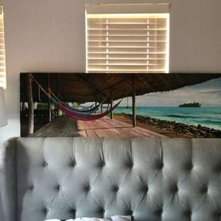 Tropical Canvas Painting