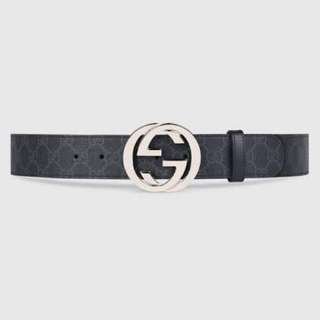 Gucci - GG Supreme Belt with G buckle
