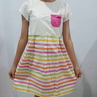 Pito dito colourfull kids dress size 14