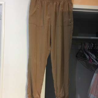 Tan pants size 10