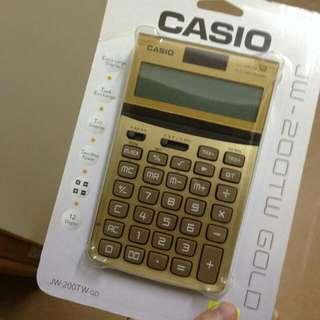 黃金 Casio 計數機!!!