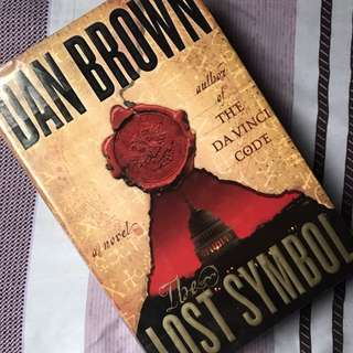 The Lost Symbol by Dan Brown (Hardbound)