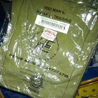 Army Green Singlet [S]