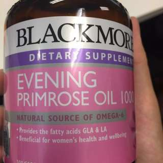 Blackmores Evening Primrose Oil 100's