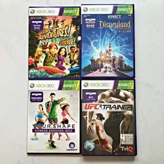 Xbox360 Kinect Games