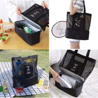 Play & Joy Picnic Beach Cooler Tote Bento Bag