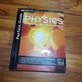 Olevel physics revision book