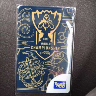 Limited edition League of Legend card Touch 'n Go
