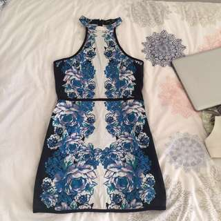 Piper Lane floral dress size 8
