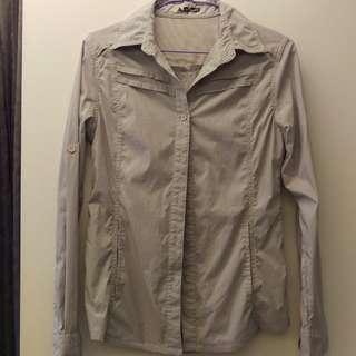 GLOBE SPIRIT 襯衫 /運動襯衫外套 /休閒襯衫外套 (S~M號)