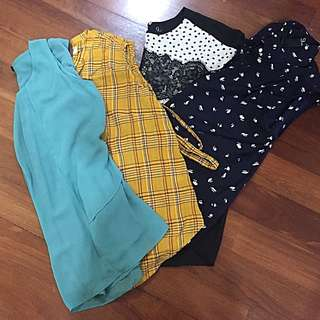 Maternity Tops (4 pieces)