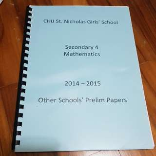 Math Olevel Revision Package