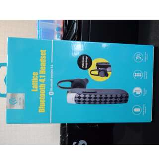Lattice Bluetooth 4.1 Headset