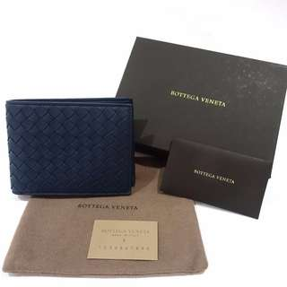 BNIB Bottega Veneta Bifold Wallet with Coin Compartment