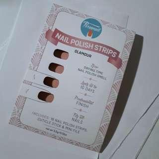 Personail Nail strips PINK dry nail polish strips