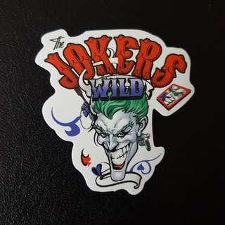 C5 Jokers Wild Sticker Stickers