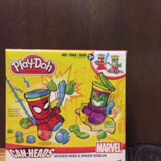 Play Doh Spiderman & Green Goblin