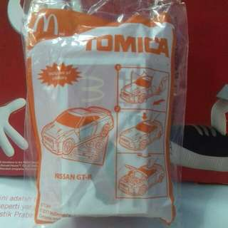 Free SMIGGLE Stationery with purchase of McDonald's Happy Meal Toys : TOMICA Nissan GT-R