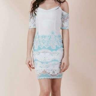 Ohvola Off Shoulder Dress