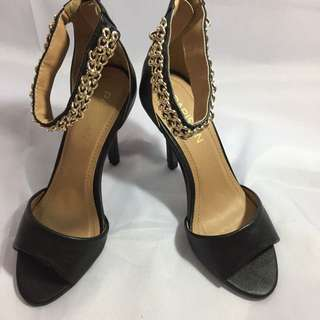 Black Party Heels Size 36