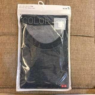 Uniqlo 圓領T恤 藍色