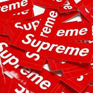 Sticker Supreme 99%