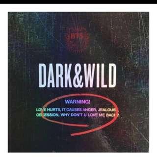DARK AND WILD ALBUM
