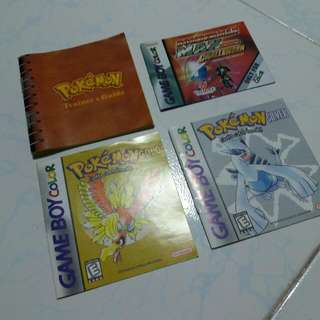 Gameboy Manuals Gbc