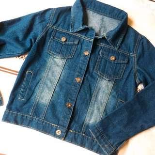 🚚 [全新]經典百搭復古銅釦刷色牛仔外套 #含運最划算 預購