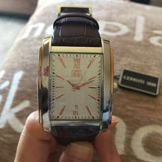 Cerruti Genuine Leather Watch