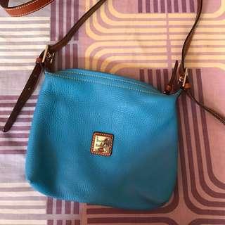 Dooney & Bourke Sling Bag( Blue) #iwantirvins